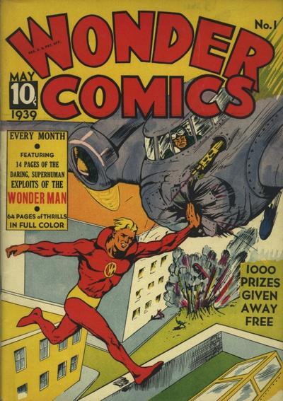 Cover for Wonder Comics (Fox, 1939 series) #1
