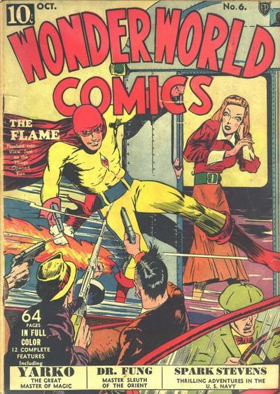 Cover for Wonderworld Comics (Fox, 1939 series) #6