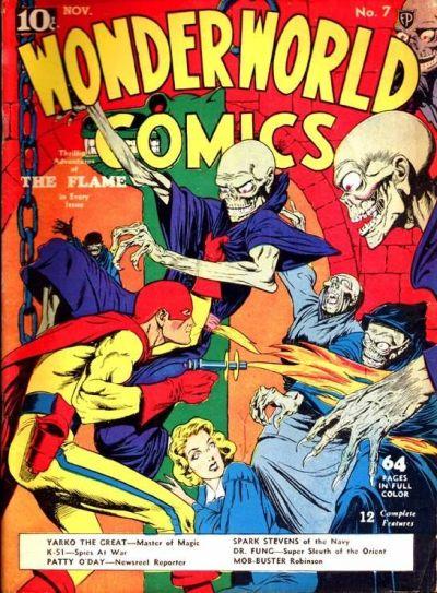 Cover for Wonderworld Comics (Fox, 1939 series) #7