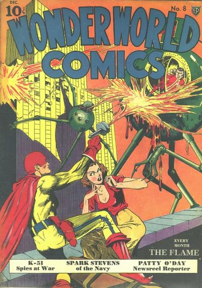 Cover for Wonderworld Comics (Fox, 1939 series) #8