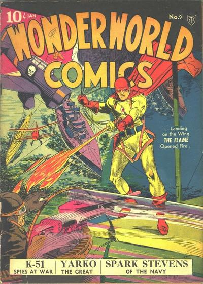 Cover for Wonderworld Comics (Fox, 1939 series) #9