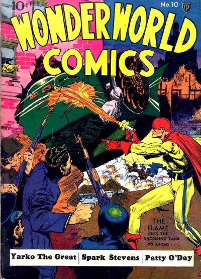 Cover for Wonderworld Comics (Fox, 1939 series) #10