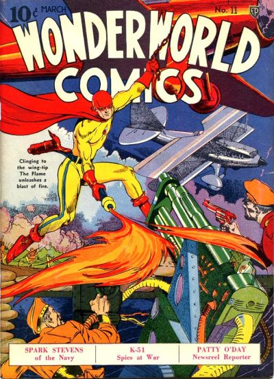 Cover for Wonderworld Comics (Fox, 1939 series) #11