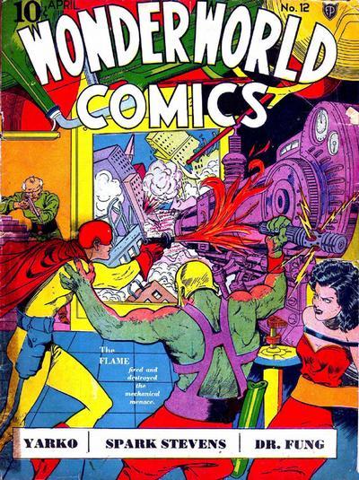 Cover for Wonderworld Comics (Fox, 1939 series) #12