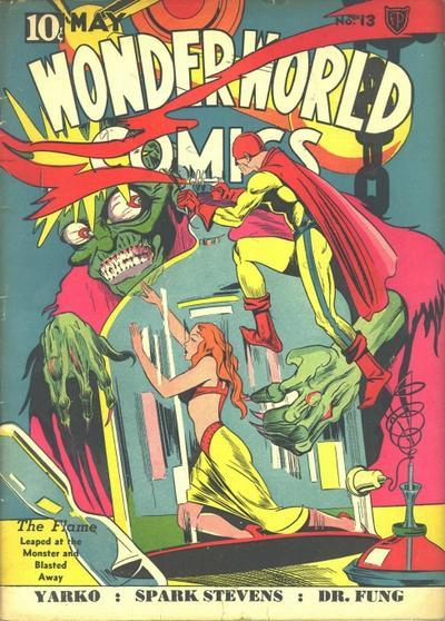 Cover for Wonderworld Comics (Fox, 1939 series) #13