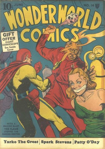 Cover for Wonderworld Comics (Fox, 1939 series) #14
