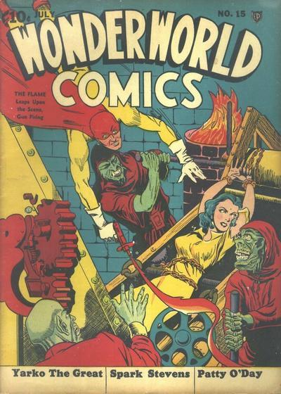 Cover for Wonderworld Comics (Fox, 1939 series) #15