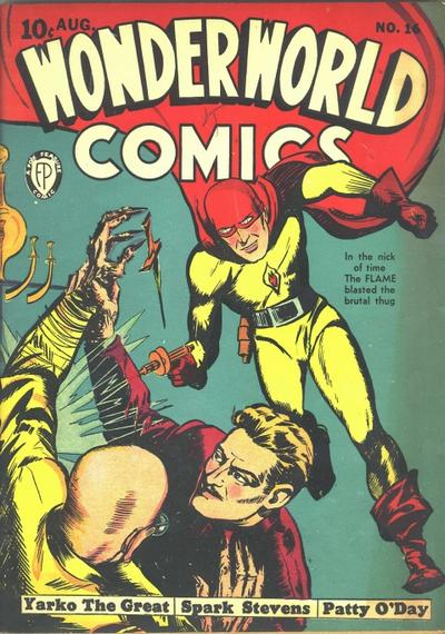 Cover for Wonderworld Comics (Fox, 1939 series) #16