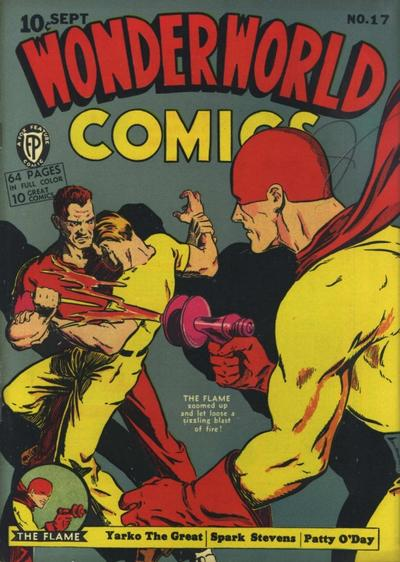 Cover for Wonderworld Comics (Fox, 1939 series) #17