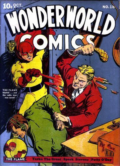 Cover for Wonderworld Comics (Fox, 1939 series) #18