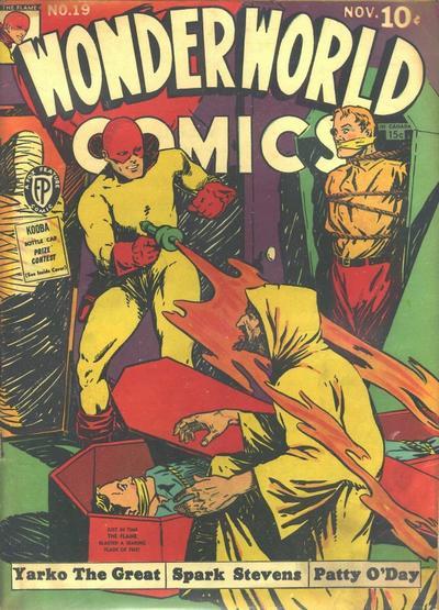 Cover for Wonderworld Comics (Fox, 1939 series) #19