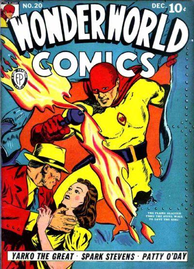 Cover for Wonderworld Comics (Fox, 1939 series) #20