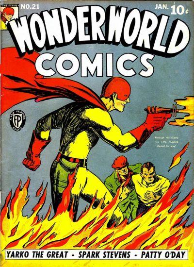 Cover for Wonderworld Comics (Fox, 1939 series) #21