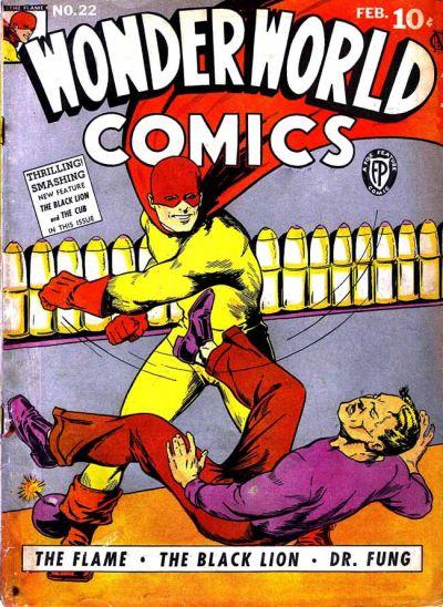 Cover for Wonderworld Comics (Fox, 1939 series) #22