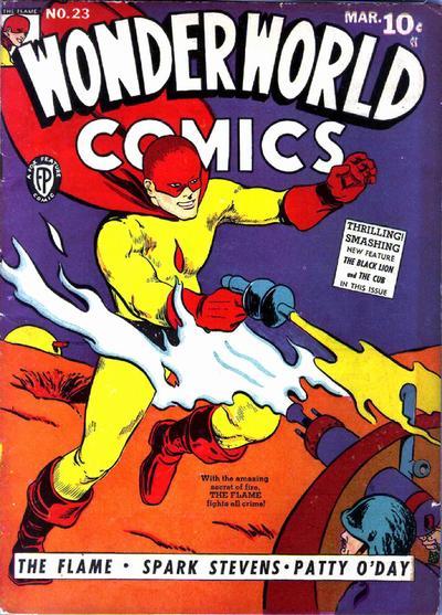 Cover for Wonderworld Comics (Fox, 1939 series) #23