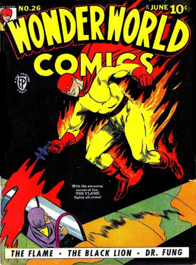 Cover for Wonderworld Comics (Fox, 1939 series) #26