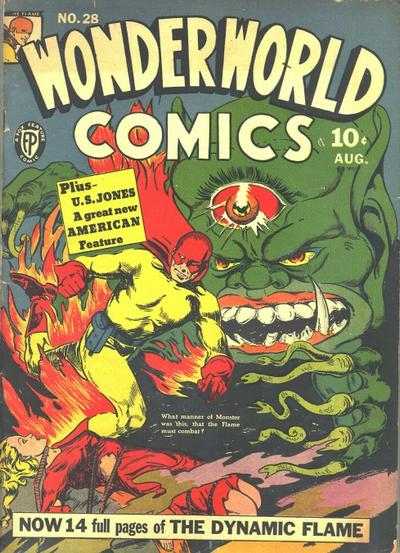 Cover for Wonderworld Comics (Fox, 1939 series) #28