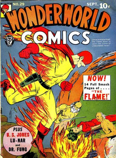 Cover for Wonderworld Comics (Fox, 1939 series) #29