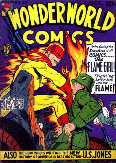 Cover for Wonderworld Comics (Fox, 1939 series) #30