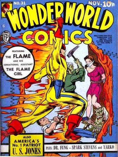 Cover for Wonderworld Comics (Fox, 1939 series) #31