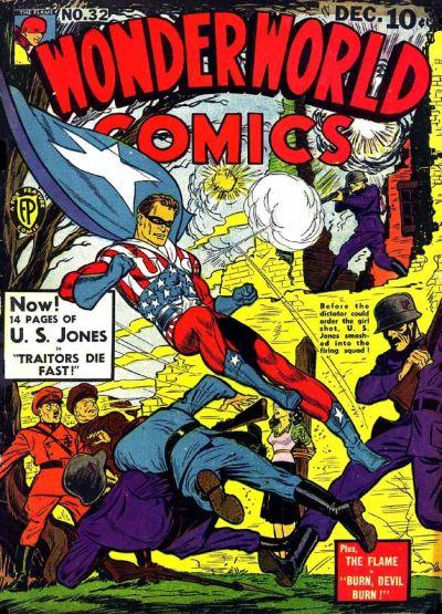 Cover for Wonderworld Comics (Fox, 1939 series) #32