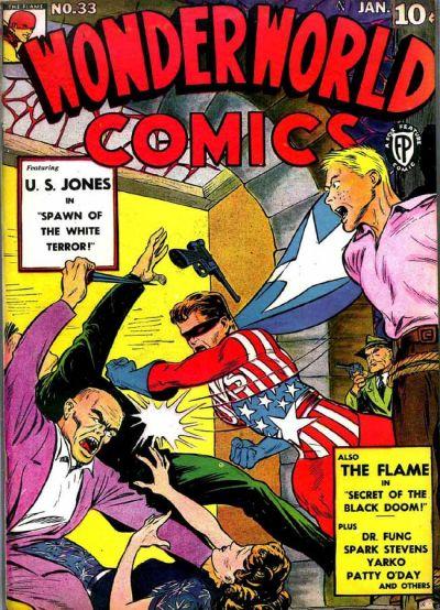 Cover for Wonderworld Comics (Fox, 1939 series) #33