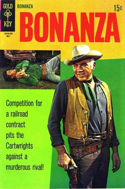 Cover for Bonanza (Western, 1962 series) #32