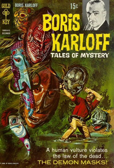 Cover for Boris Karloff Tales of Mystery (Western, 1963 series) #24