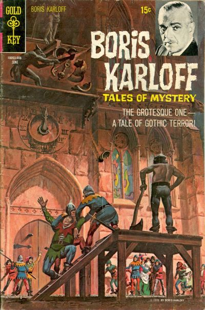 Cover for Boris Karloff Tales of Mystery (Western, 1963 series) #30
