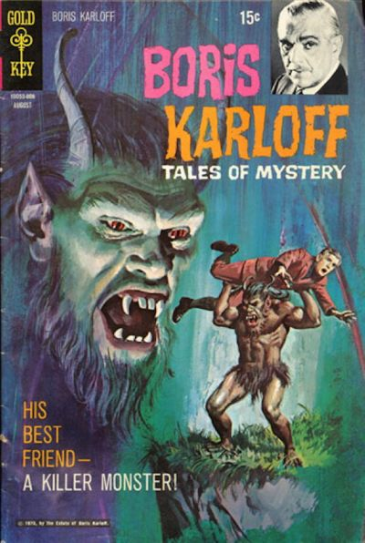 Cover for Boris Karloff Tales of Mystery (Western, 1963 series) #31