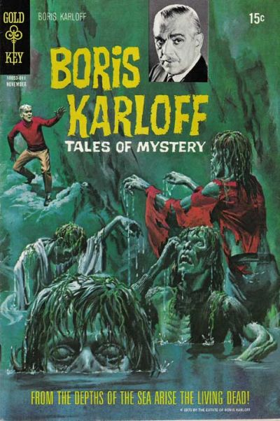 Cover for Boris Karloff Tales of Mystery (Western, 1963 series) #32