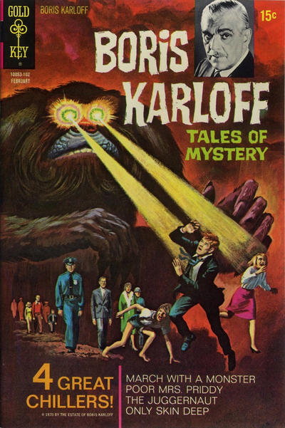 Cover for Boris Karloff Tales of Mystery (Western, 1963 series) #33