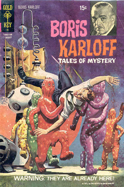 Cover for Boris Karloff Tales of Mystery (Western, 1963 series) #36