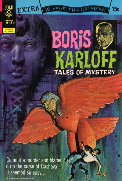 Cover for Boris Karloff Tales of Mystery (Western, 1963 series) #44