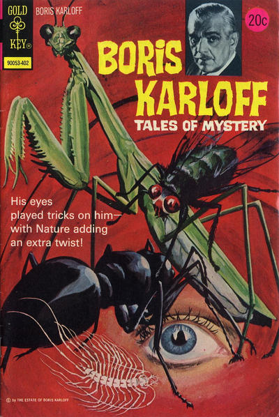 Cover for Boris Karloff Tales of Mystery (Western, 1963 series) #52