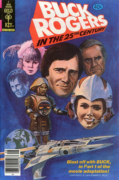 Cover for Buck Rogers (Western, 1964 series) #2 [Gold Key]