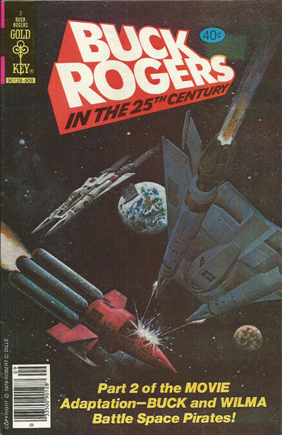 Cover for Buck Rogers (Western, 1964 series) #3 [Whitman]