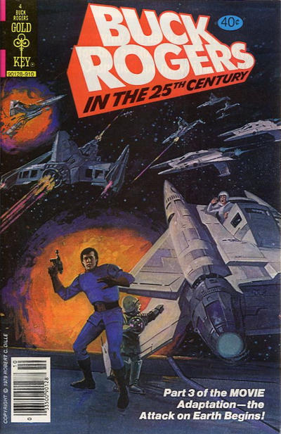 Cover for Buck Rogers (Western, 1964 series) #4 [Whitman]