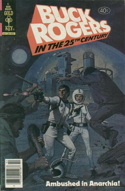 Cover for Buck Rogers in the 25th Century (Western, 1979 series) #6 [Whitman]