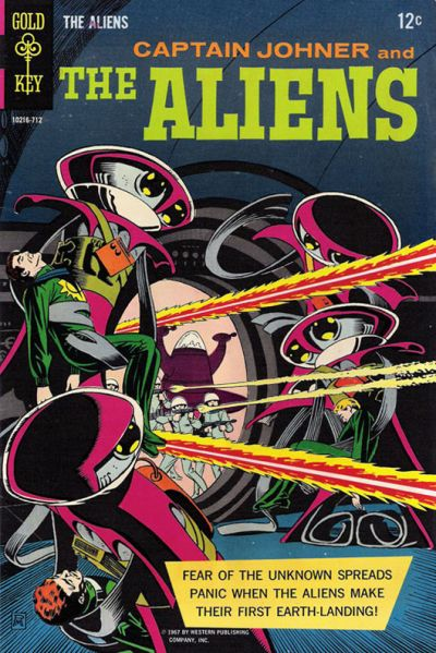 Cover for The Aliens (Western, 1967 series) #1