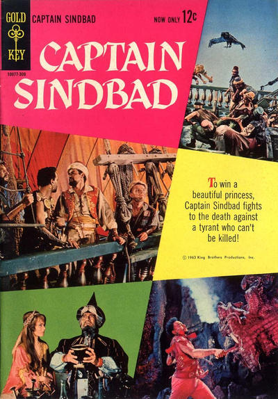 Cover for Captain Sindbad (Western, 1963 series)