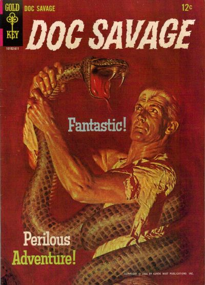 Cover for Doc Savage (Western, 1966 series) #1