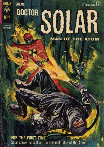Cover for Doctor Solar, Man of the Atom (Western, 1962 series) #5
