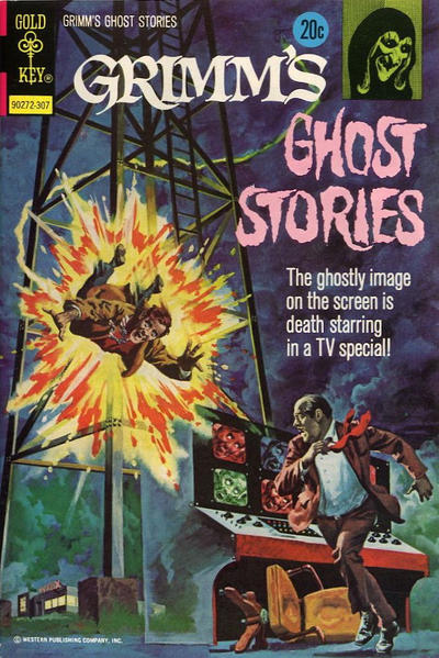 Cover for Grimm's Ghost Stories (Western, 1972 series) #10