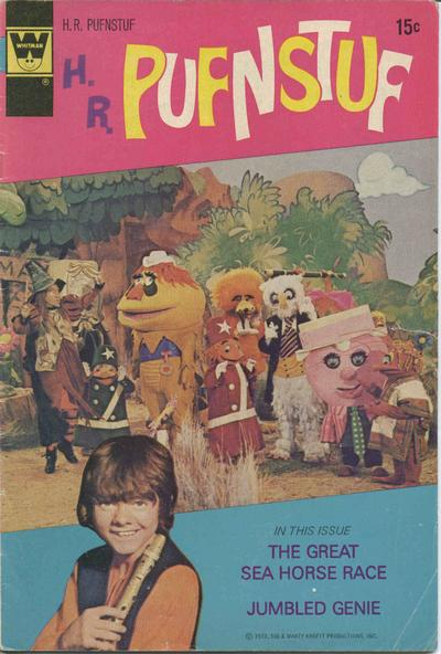 Cover for H. R. Pufnstuf (Western, 1970 series) #7 [Gold Key Variant]