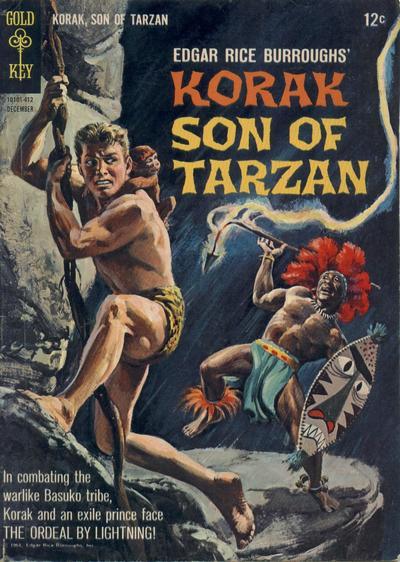 Cover for Edgar Rice Burroughs Korak, Son of Tarzan (Western, 1964 series) #6
