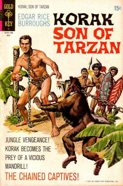 Cover for Edgar Rice Burroughs Korak, Son of Tarzan (Western, 1964 series) #41