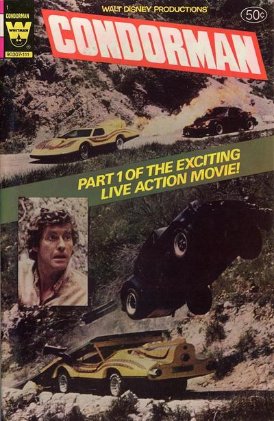 Cover for Walt Disney Condorman (Western, 1981 series) #1