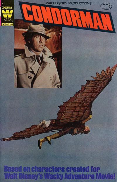 Cover for Walt Disney Condorman (Western, 1981 series) #3