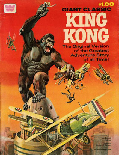 Cover for King Kong Treasury Edition (Western, 1968 series)